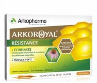 Arkoroyal Propolis verte Echinacée Solution buvable 20 Ampoules/10ml à Bergerac