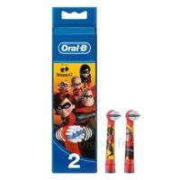 Oral B Incredibles 2 Brossette kids Blister/2 à Bergerac