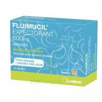 Fluimucil Expectorant Acetylcysteine 600 Mg Glé S Buv Adultes 10sach à Bergerac