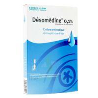 DESOMEDINE 0,1 % Collyre sol 10Fl/0,6ml à Bergerac