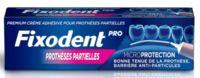 Fixodent Pro Crème Adhésive Pour Prothèse Partielle T/40g à Bergerac