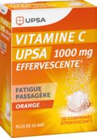 Vitamine C Upsa Effervescente 1000 Mg, Comprimé Effervescent à Bergerac